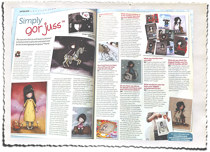 Interview in SImply Homemade Magazine – OUT NOW