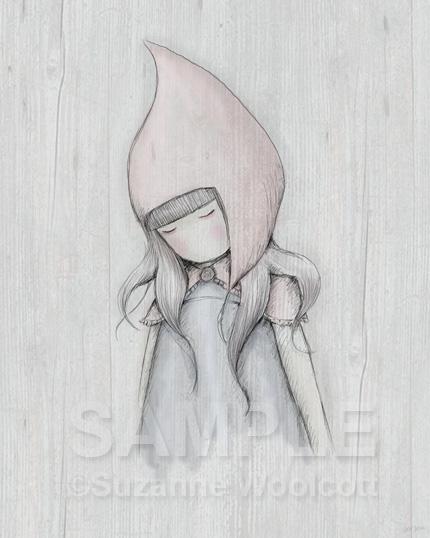 """Gorjuss """"The Hood"""" - View ALL the Gorjuss artworks at www.SuzanneWoolcott.com"""