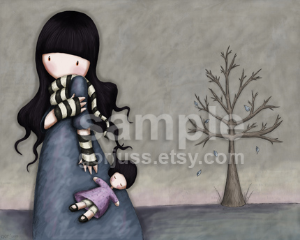 "Gorjuss ""The Throw Away Doll"" - View ALL the Gorjuss artworks at www.SuzanneWoolcott.com"