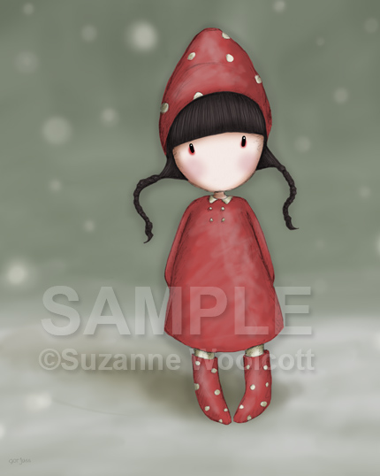 "Gorjuss ""Xmas Elf"" - View ALL the Gorjuss artworks at www.SuzanneWoolcott.com"