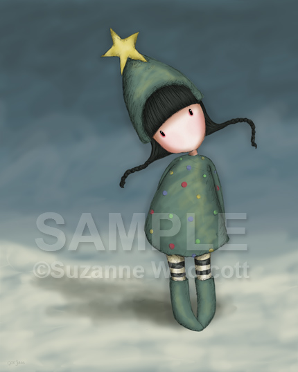 "Gorjuss ""Xmas Eve"" - View ALL the Gorjuss artworks at www.SuzanneWoolcott.com"